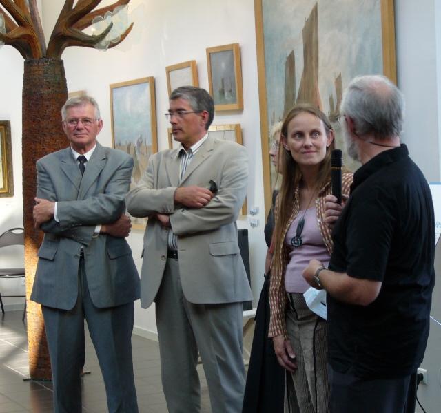 Inauguration des expositions au Musée de Berck sur Mer P1000491