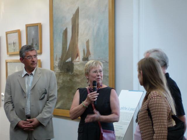 Inauguration des expositions au Musée de Berck sur Mer P1000492